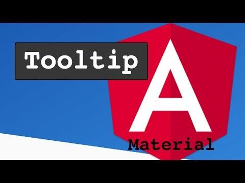 Angular Material Tooltip