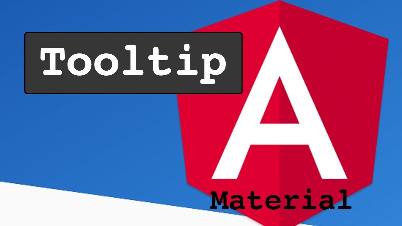 Angular Material Tooltip