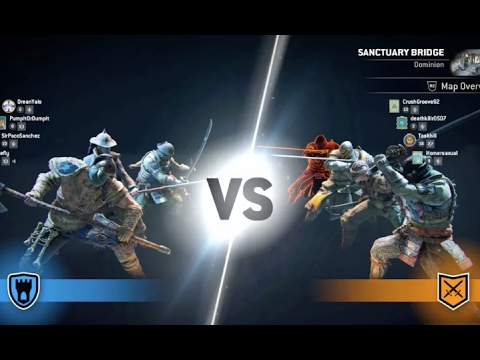 FOR HONOR MULTIPLAYER - СЕТЕВАЯ ИГРА PS4 Pro [Gameplay]