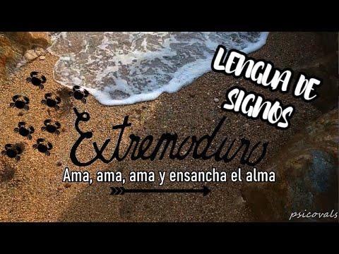 Extremoduro Ama Ama Ama Y Ensancha El Alma Lengua De Signos Lse Youtube