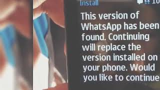 Whatsapp download in Nokia 216