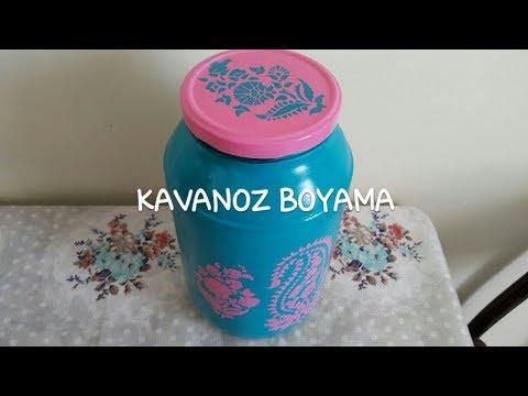 Kavanoz Boyama Nasıl Yapılır ?