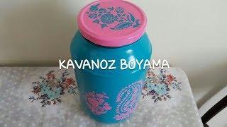Kavanoz Boyama Nasıl Yapılır