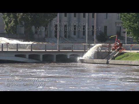Cedar Rapids, IA Major Flooding - 9/26/2016