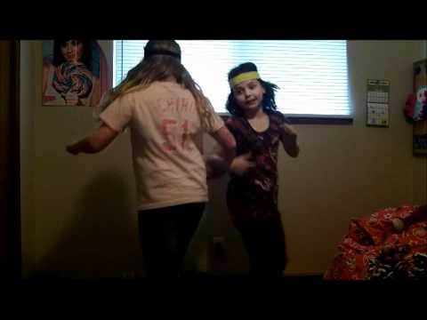 Kiera and Rylee Singing The Iditarod Trail Song
