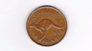 какие животные изображены на монетах австралии, монеты Фауна, Кенгуру, Австралия, 1 пенни, 1948г(Я ЗАРАБАТЫВАЮ НА ПРОСМОТРАХ СВОЕГО ВИДЕО ЗДЕСЬ: https://youpartnerwsp.com/join?74431 WWC номер KM# 36 Страна Австралия Период..., 2016-08-18T16:38:06.000Z)