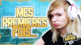 PREMIERES FOIS... - FORTNITE