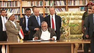 Yemen'de yönetim ve Husiler ateşkes anlaşmasını imzaladı