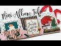 Mini Album Folio Tutorial | HAPPY MAIL IDEAS | Serena Bee Creative