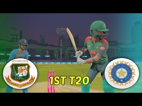 INDIA V BANGLADESH 2019 GAMING SERIES - 1ST T20 - ASHES CRICKET 19