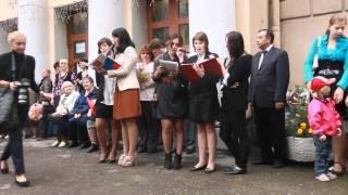 Линейка 1 сентября 2011. 197 школа. Песня старшеклассников.
