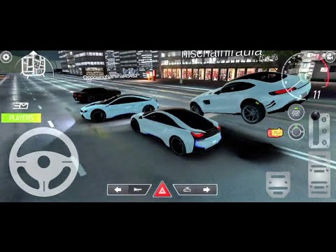 Real car parking 2 (multiplayer) - Bmw i8 (free drive mode)|real car parking 2 driving school 2020