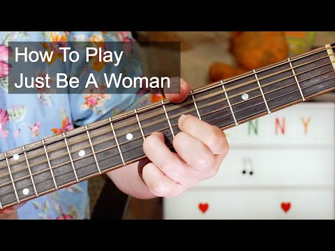 'Just Be A Woman' Lenny Kravitz Acoustic Guitar Lesson