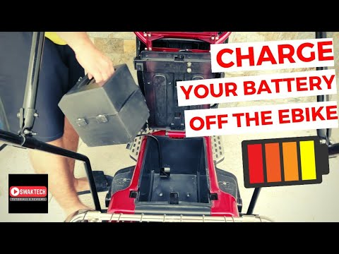 Charging Your E-bike Battery Outside Your ERV Unit | Simple Lang!