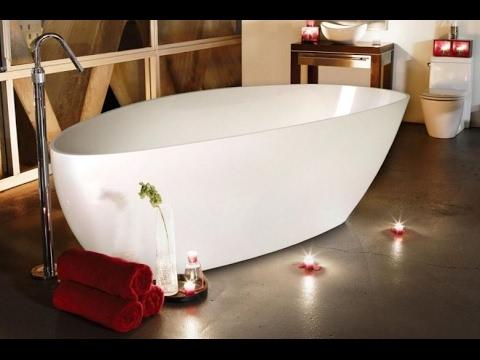 Ванны из искусственного камня (литьевой мрамор)