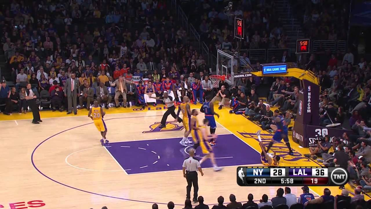 Xavier Henry Lakers 2013 New York Knicks vs Los...