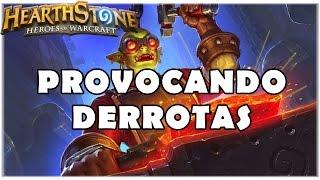 HEARTHSTONE - PROVOCANDO DERROTAS! (PADRÃO TAUNT WARRIOR)