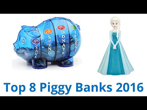8 Best Piggy Banks 2016