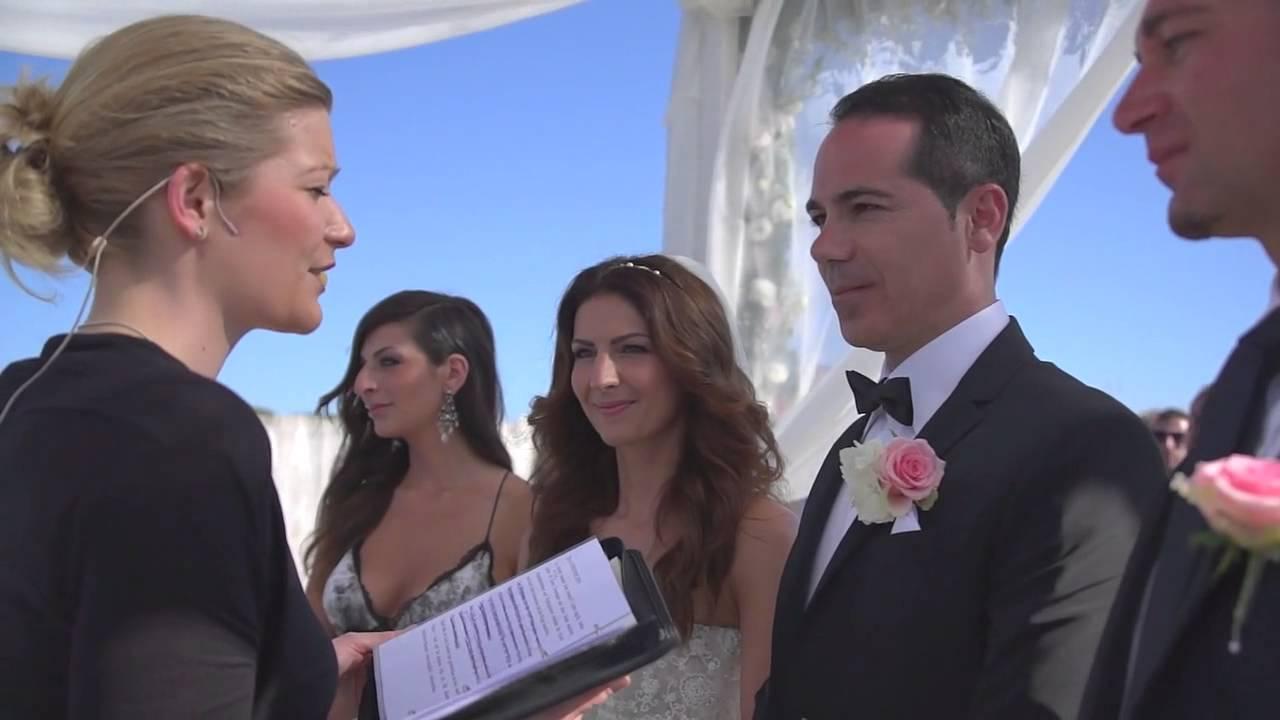 Matrimonio Spiaggia Salento : Matrimonio in spiaggia al riva marina resort youtube