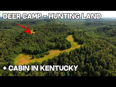 Deer Camp for sale in Kentucky hunting land with cabin, can you make a lot of money with AirBnB VRBO