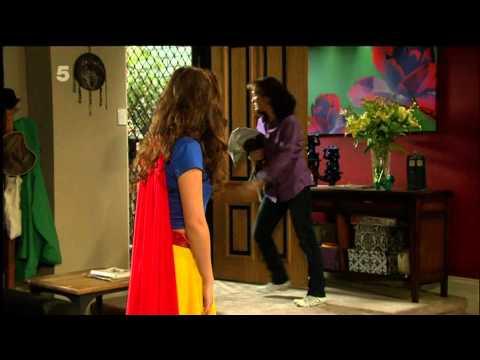 Gemma Pranita SuperGirl Outfit Neighbours 241011