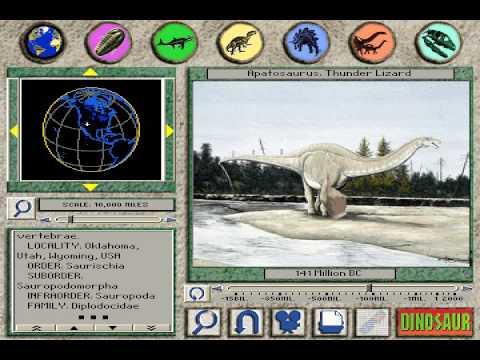 "3D Dinosaur Adventure ""Apatosaurus: Thunder Lizard"" Page"
