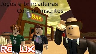ROBLOX-GAMES and PRANKS WITH SUBSCRIBERS