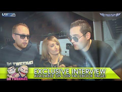 Da Tweekaz - Interviewed at Hardstyle Heaven / Vision / Scotland  by UXXV Media