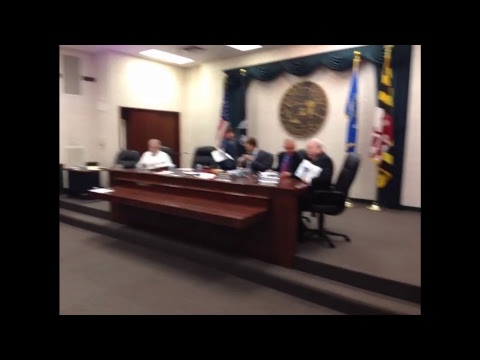 Allegany County Board of County Commissioners Public Meeting  - July 27, 2017