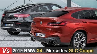 2019 BMW X4 Vs Mercedes GLC Coupe ► Side By Side Comparison
