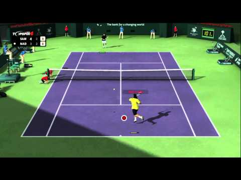 Top Spin 4 (Online Match 1 Part 2) Nadal vs Sampras