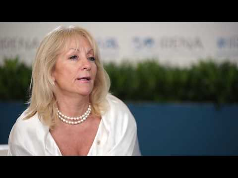 Carolina Cosse, Uruguay's Minister of Energy, Industry and Mining at IRENA's Eighth Assembly