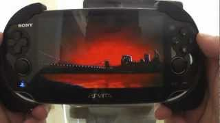 PS Vita Resistance Burning Skies Unboxing & Hands On
