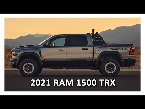 2021 Ram 1500 TRX – The Most Powerful Mass-produced Pick-up Truck