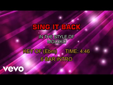 Moloko - Sing It Back (Karaoke)