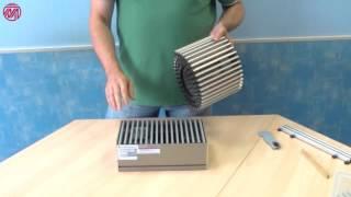 Резка и ремонт решётки для внутрипольного конвектора.(, 2016-10-16T15:49:23.000Z)