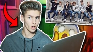 REACTING TO KPOP BTS (First Time)