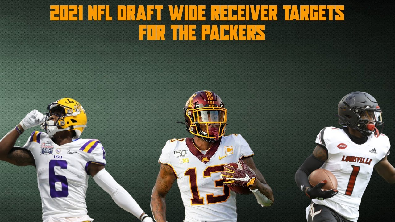 2021 NFL Draft Wide Receiver Targets for the Packers