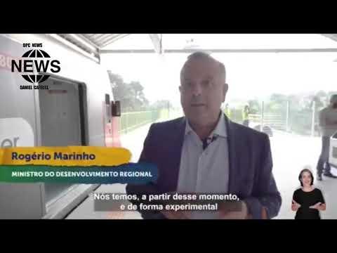 BOLSONARO ANUNCIA: Ampliação da Linha 9 - Esmeralda da CPTM, em São Paulo