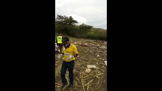 Road safety volunteers founder from bus crash scene (Londiani-Muhoroni road)
