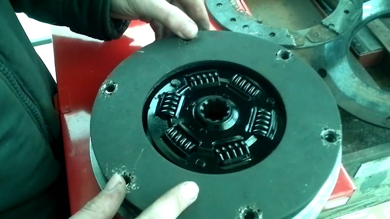Переделка диска сцепления на мотоцикл урал, днепр! - YouTube