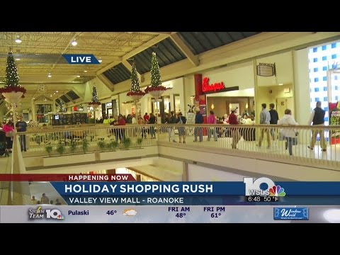 Black Friday at Valley View Mall