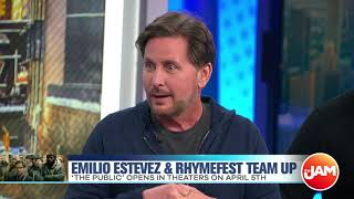 "Emilio Estevez and Rhymefest Talk Jussie Smollett, ""Keeping Up With The Kardashians"", and New Film"