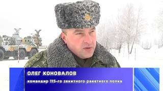 2017-01-20 г. Брест. Автомарш военнослужащих 115 зенитного ракетного полка. Новости на Буг-ТВ.