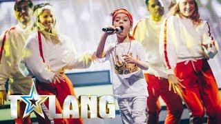 Osman får stående ovationer i Talangfinalen - Talang (TV4)
