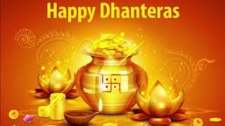 HAPPY DHANTERAS | Happy Dhanteras whatsapp status video Good Wishes 2018