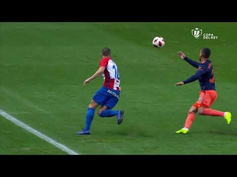 Todos los goles de 1/8 Ida Copa del Rey 2018/2019