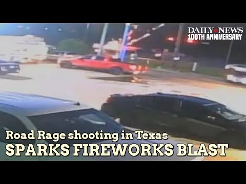 Police release video of fireworks in truck exploding after shots fired