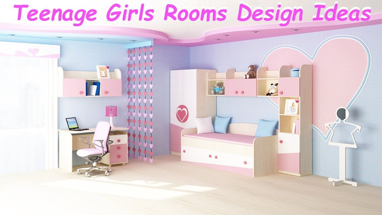 45 Most Popular Beautiful Teenage Girls Rooms Design Ideas ...