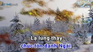 [Karaoke TVCHH] 070 - CẤT TIẾNG CA VANG - Salibook